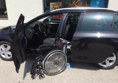 Rollstuhlverladung