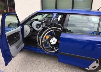 Rollstuhlverladung 1